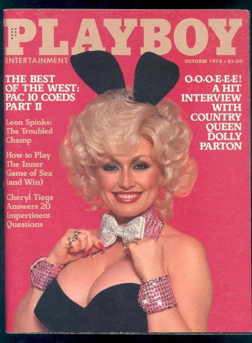 Dolly Parton na capa da Playboy (Foto: Reprodução Google)
