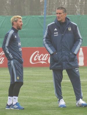Messi Edgardo Bauza Argentina (Foto: Reprodução/Twitter)