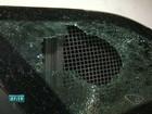 Carro da PM é depredado durante patrulhamento em Vila Velha, ES