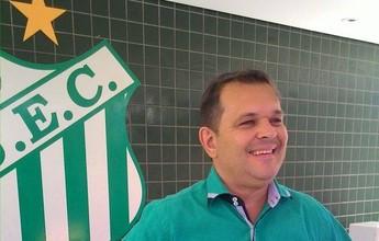 """Solução caseira do clube, diretor de futebol diz que UEC começa """"do zero"""""""