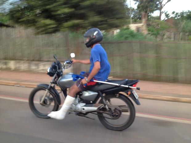 Moto (Foto: Duaine Rodrigues/G1)