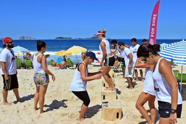 HIIT em Circuito de Areia (Foto: Divulgação / ProForma)