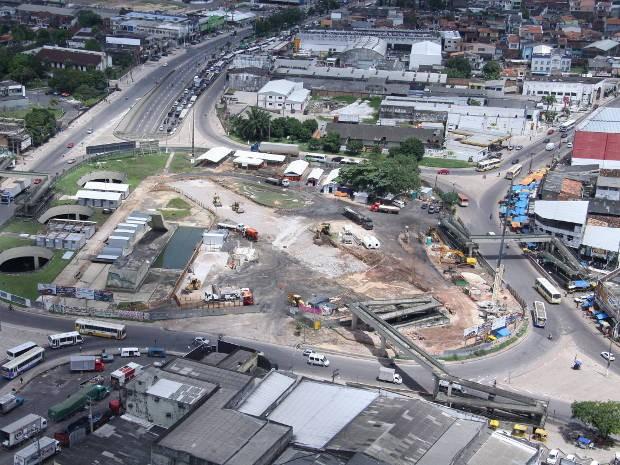 Medida é para garantir prosseguimento das obras do complexo viário em Belém (Foto: Comus/ Divulgação)