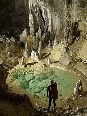 Caverna (Foto: Max Wisshak/Cortesia Hazel Barton)