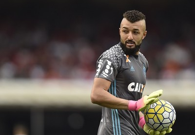 São Paulo x Flamengo Alex Muralha  (Foto: Mauro Horita)
