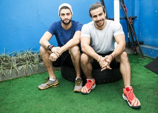 Munhoz e Mariano (Foto: Iwi Onodera)