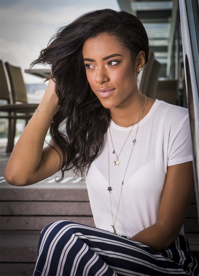 Yara Charry defende que vale a pena arriscar por um amor (Foto: Inácio Moraes/ Gshow)