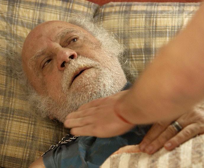 Ex-vereador ameaça matar o homem que o criou (Foto: TV Globo)