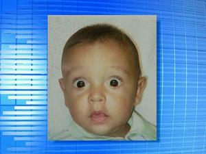 Gabriel Fernando da Silva Santos, de 1 ano, morreu após ser atropelado por uma van em frente a uma escola infantil de Campinas (Foto: Reprodução / EPTV)