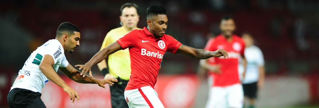 Inter perde chances e só empata com  o Coritiba em estreia na Sul-Minas-Rio (Ricardo Duarte/Divulgação Inter)