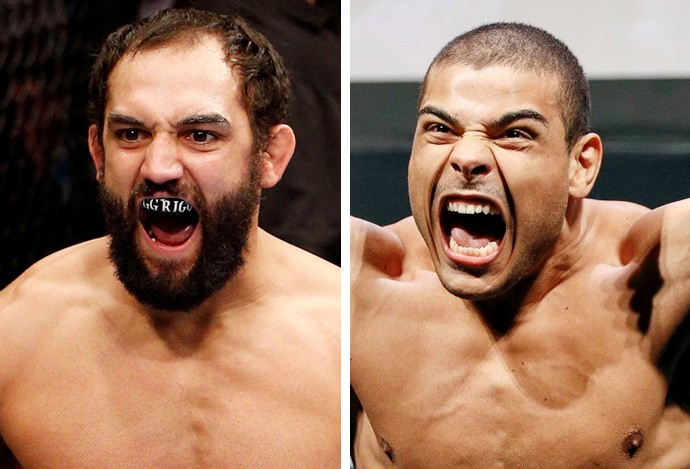 Paulo Borrachinha x Johny Hendricks (Foto: Getty)