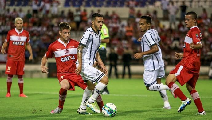 CRB x Bragantino - Estádio Rei Pelé - Galdezani - Luidy (Foto: Ailton Cruz/Gazeta de Alagoas)