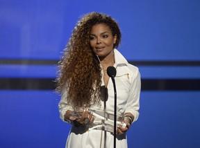 Janet Jackson em prêmio de música em Los Angeles, nos Estados Unidos (Foto: Kevork Djansezian/ Reuters)