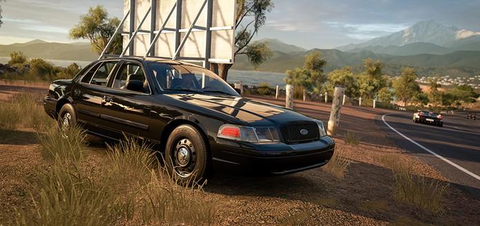 Primeiro pacote de carros de Forza Horizon 3 traz o icônico Ford Crown Victoria (Foto: Divulgação/Microsoft) (Foto: (Foto: Divulgação/Microsoft))
