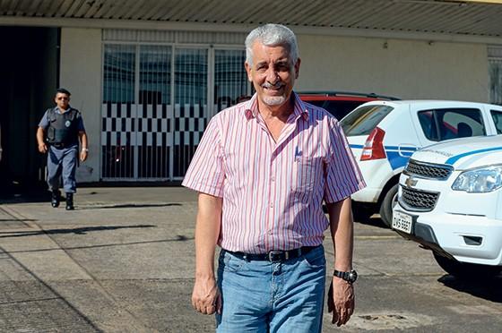COLEGA O ex-diretor do Banco do Brasil Henrique Pizzolato. A ele, Luiz Estevão deu emprego na saída da cadeia (Foto: Pedro Ladeira/Folhapress)