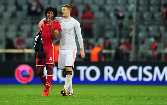 Dante e Neuer Bayern de Munique (Foto: Getty Images )