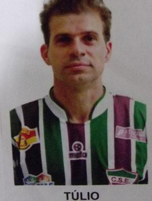 Túlio Maravilha CSE (Foto: Divulgação Federação Alagoana de Futebol)
