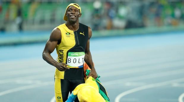 Atletas como Usain Bolt  e artistas como Rihanna têm ajudado a Puma a crescer no mercado (Foto: Reprodução/Wikimedia Commons)