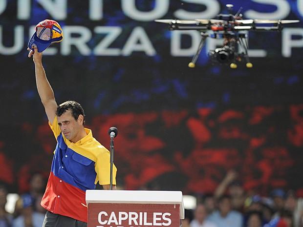 Capriles (Foto: Leo Ramirez/AFP)
