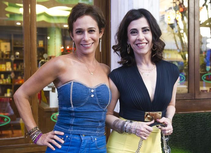 Sueli e Fátima vão aprontar todas no episódio desta terça, 25 (Foto: Caiuá Franco/ TV Globo)