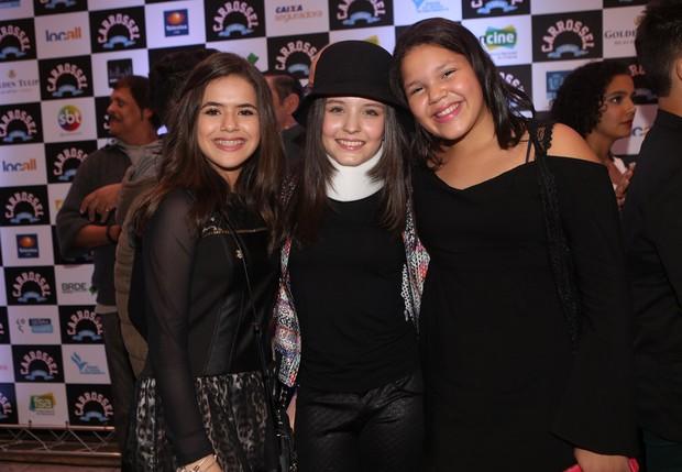 Maisa, Larissa Manoela e Aysha (Foto: Iwi Onodera/ EGO)