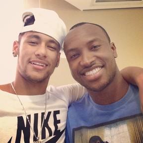 Neymar e Thiaguinho (Foto: Instagram / Reprodução)