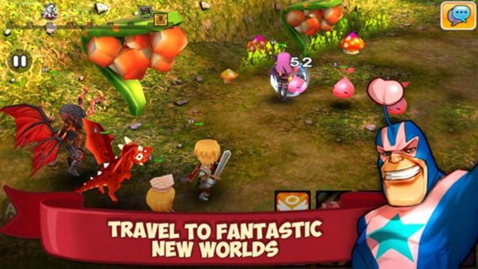 RPG tem jogabilidade clássica mas com gráficos incríveis (Foto: Divulgação)