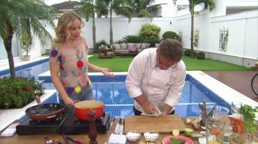 Claude Troisgros ensina receita de ceviche com toque brasileiro