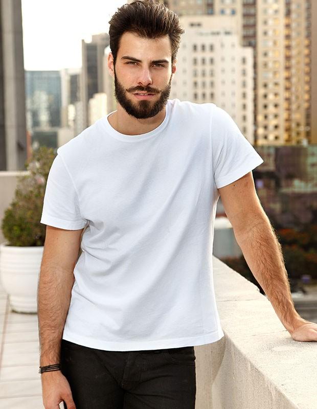 Lucas era modelo antes de ser ator  (Foto: Arquivo Pessoal)