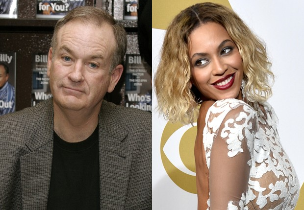 Bill O'Reilly e Beyoncé (Foto: Getty Images)