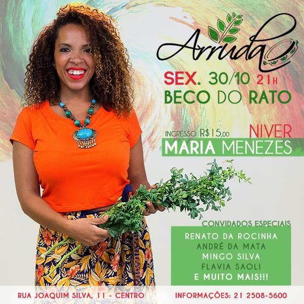 Arruda no Beco do Rato flyer