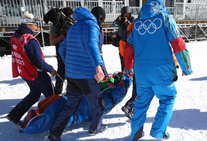 Esqui finlêndia Marika Enne acidente (Foto: Agência Getty Images)