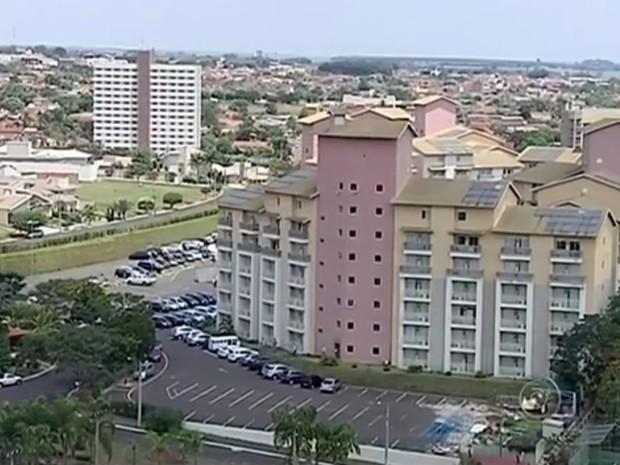 Rede hoteleira vem crescendo a cada ano na cidade (Foto: Reprodução/ TV TEM)