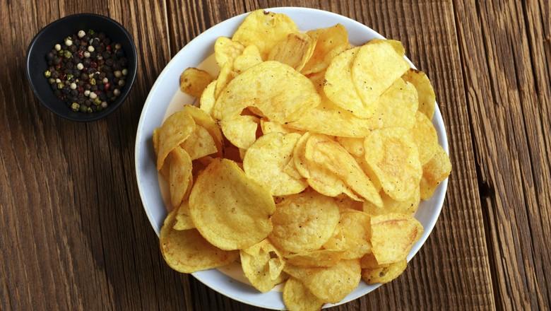 batata_chips_forno_receita (Foto: Thinkstock)