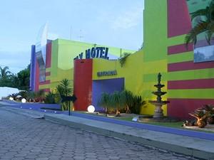 Crime aconteceu em motel, em Cariacica. (Foto: Reprodução/TV Gazeta)