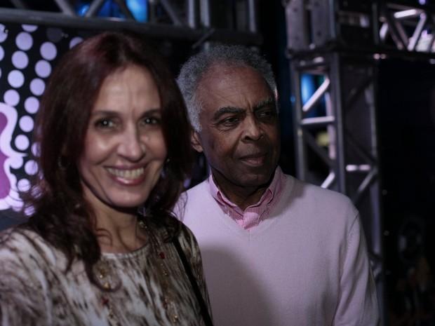 Flora Gil e Gilberto Gil em festa de Preta Gil no Rio (Foto: Isac Luz/ EGO)