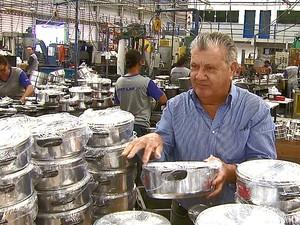 Empresário Ademir Ramos diz que faturamento aumentou 10% (Foto: Reprodução/EPTV)