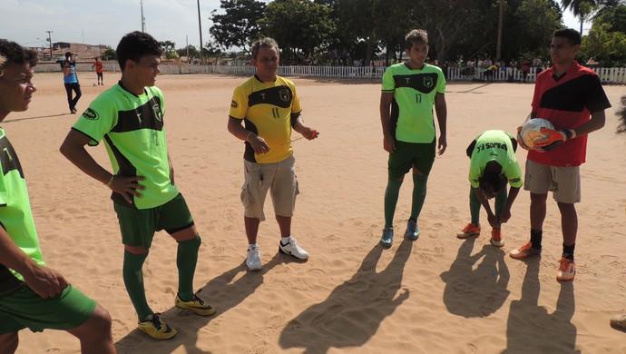 Beto Farinha, técnico do Tapajós sub-17 (Foto: Guto Cardoso/Ascom Tapajós)