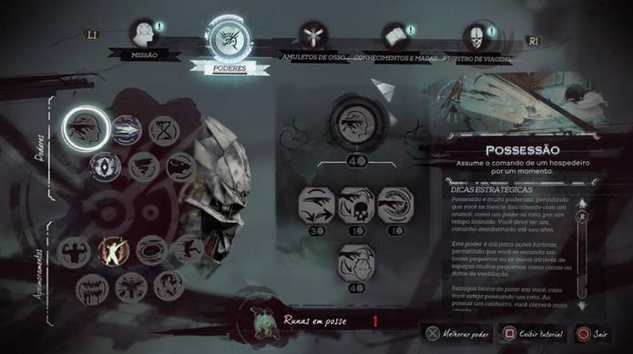 Como evoluir suas habilidades e aprimoramentos em Dishonored 2 (Foto: Reprodução/Felipe Vinha)