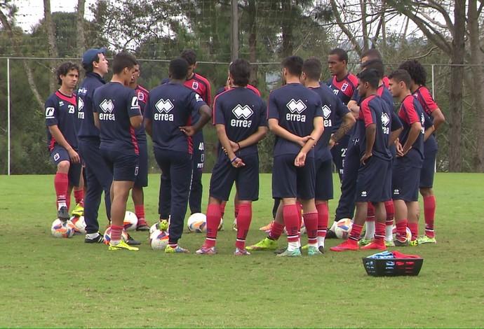 Paraná treino (Foto: Reprodução/ RPC)