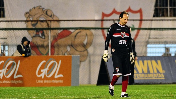 Rogério Ceni São Paulo Portuguesa (Foto: Marcos Ribolli)