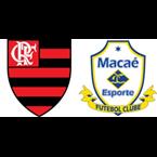 Flamengo x Macaé (Foto: Reprodução)