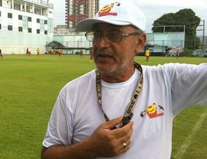 José Tavares técnico do Sul América (Foto: Isabella Pina)