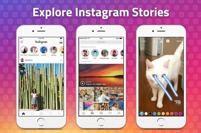 Instagram vai passar a sugerir perfis para seguir no Stories (Foto: Divulgação/Instagram)