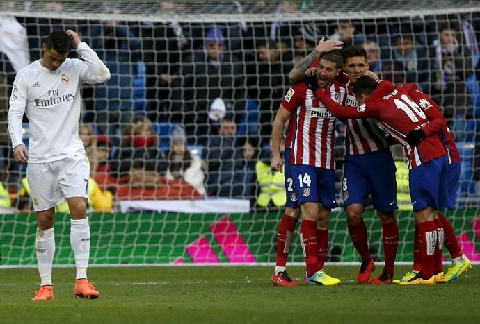 Cristiano Ronaldo Real Madrid Atlético de Madrid (Foto: Reuters)