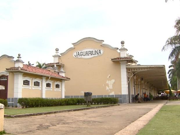 Estação Ferroviária de Jaguariúna é tombada como patrimônio estadual (Foto: Reprodução EPTV)