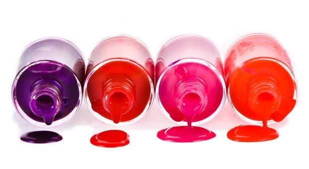 Frascos de esmalte (Foto: Shutterstock)