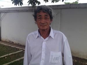 Gilberto de Melo Maciel afirma filho foi executado por policiais, Macapá, Amapá, crime, (Foto: Fabiana Figueiredo/G1)