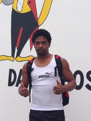 Basílio, volante do Campinense (Foto: Silas Batista / GloboEsporte.com)