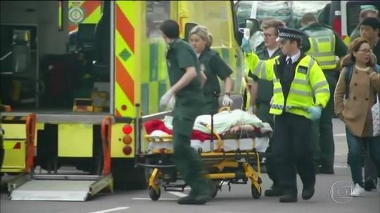 Ataque em Londres mata 5 e fere 40; suspeito está entre os mortos